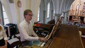J.S. Bach - Trio Sonata No. 2 in C Minor BWV 526 - Gert van Hoef - Ste. Agnesker