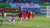 回顾2015亚洲杯巴林大战阿联酋奥马尔14秒助攻队友破门