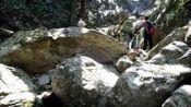 续;2019.10.16.龙岩游山玩水户外群.龙门漂群6位驴友环穿探路紫金山多处龙井瀑布.
