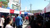 """绥德3.28""""陕北 旱码头""""商贸文化旅游节,现场人山人海"""