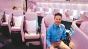 【YouTube】德语生肉 新西兰航空 波音777-200ER 商务舱飞行报告(奥克兰 - 悉尼)