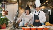 女神张墨锡 教我们制作美味煎饼,你学会了吗