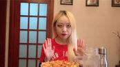 【EAT with 27M27】小披萨 +五谷杂粮粥+咖啡牛奶(feat.番茄酱+海鲜酱油)