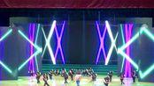 云南红河学院大学五分钟的现场鬼步舞演出