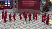 2019河南电视台中老年春晚平顶山海选东燕之星模特队《黛影拂春墨云烟》