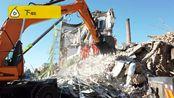 航拍救援现场!吉林白城倒塌办公楼已致1死4伤,仍有4人被困