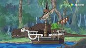 海贼王:对香吉士来说,剑齿虎跟小猫咪没有区别!