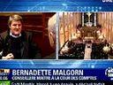 Bernadette Malgorn sur BFM TV lors de l hommage ?Philippe Seguin (4)(360p_H.264