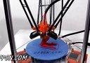 ROSTOCK MINI PRO并联臂3D打印机 打印展示
