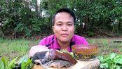 [Hagna]泰国吃播硬核大叔吃牛肚牛肝