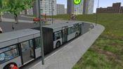 【Richard】跑铰链晚点16分+中途走错掉头 -巴士模拟2 omsi2 金河市 Line 10