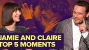 Outlander's Sam Heughan & Caitriona Balfe | Jamie & Claire Best Moments