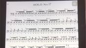 美国军鼓150条solo No.17(示范)