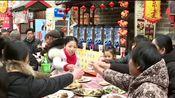 河南鹤壁:连桌宴迎新春 欢欢喜喜过大年