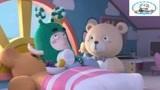 《奇宝萌兵第一季》机智的Newt送Zee一个玩具熊陪他,Newt暗暗观察Ze