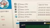 玩游戏主机温度高?AD64烤机不是6个选项全开,左右侧板没盖完整的都是耍流氓行为。本次测试以AD64 +鲁大师查看温度。