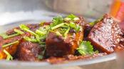 大厨教你做酱爆豆腐,做出来麻辣可口,吃起来津津有味!