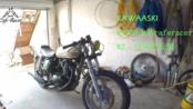 Kawasaki BJ250改装cafe racer风格 #2分离把安装