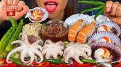 【stella】食用章鱼、扇贝、红菇辣酱、芦笋、辣椒(2020年3月1日18时0分)