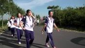 青岛市即墨区实验高级中学军训远足拉练