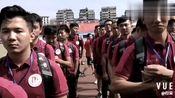 襄阳市足球代表队在湖北省第十五届运动会足球比赛开幕式上