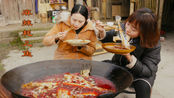 秋妹做麻辣耗儿鱼,一次买10多斤,脸一样大小的耗儿鱼,就是好吃