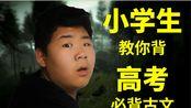 【王梓屹】小学生教你背高考必背古文