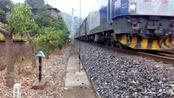 [火车][震撼视角]HXD3C+25G[K1098]达州-广州 达万线达州段〔达州东至平桥区间〕