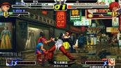 拳皇2000阳光vsAK,ak八神超精彩的0秒翻盘!