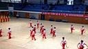 2015年9月日17日上午四川省第八届运动会腰鼓自编套路决赛德阳代表队表演