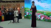 北京飞翔合唱团参加北京通州万达商城庆祝祖国68华诞文艺演出(2-2)2017-10-3