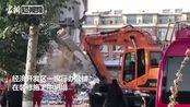 吉林白城一银行办公楼坍塌造成5死4伤