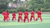 091小学体育与健康四年级《上步搂手马步击掌》优质课教学视频+教案