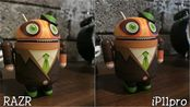 Moto RAZR vs iPhone 11 Pro Max拍照对比