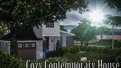 【葡萄吃月饼 搬运】模拟人生4速建 舒适的现代房子 Cozy Contemporary House by Nikoleta Mitríková
