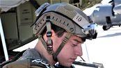 美国空军人员在戴维斯·蒙山空军基地进行守护天使2019跳伞大师训练课程-高跳低开自由空降训练