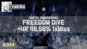 Live! | Rairiku | xi - FREEDOM DiVE [METAL DIMENSIONS] +HR (Cherry Blossom, 8.04