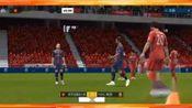 FIFA足球世界:卡瓦尼连续晃掉两个人直接打门