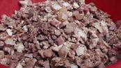 早餐中国:豆腐脑加上大快牛油炒的牛肉,太好吃了