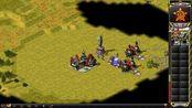 红警2 v1.006 伊拉克1v7冷酷伊拉克,随机地图,第一次没过,但发现个绝佳防守位。