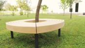 【木工DIY产品】一个户外圆形椅的制作过程