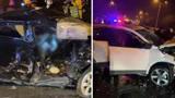 惨烈!宁波慈溪两车猛烈相撞致2死6伤