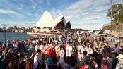 泸州学子在澳大利亚办汉服快闪表白祖国