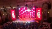 舞蹈《开门红》表演:阿城区海东青艺术团舞蹈队。哈尔滨市阿城区迎新春慰问环卫工文艺专场,2017年1月。