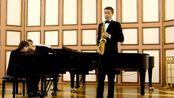【萨克斯】保罗·欣德米特奏鸣曲 P. Hindemith - saxophone Sonata - Nikita Zimin
