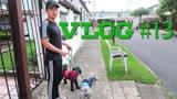 VLOG 13:下午带狗狗去散步,还碰到了一个经典复古车