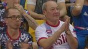 2018年 世锦赛 女团决赛 Aliya Mustafina RUS 高低杠
