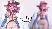 Z球起手创建风格化卡通人物模型by pollygon