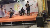 金秋玉漫国庆漫展10/3现场某不知名乐队。