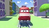 汽车城之火车特洛伊 第1集 拖车汤姆